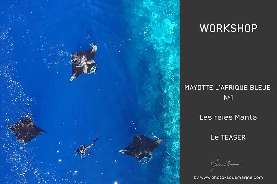 Mayotte, l'Afrique Bleue - Raies Manta - LE TEASER !